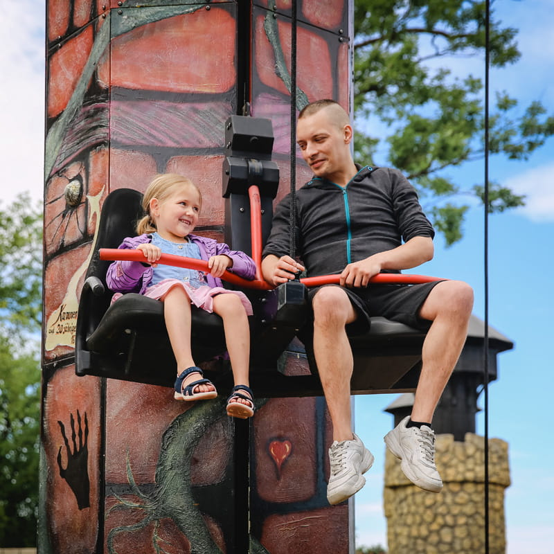 """Witch's Seat"" Pull'N'Lift Tower"
